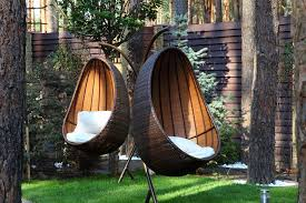 hanging egg chair outdoor ideas white wicker patio chairs