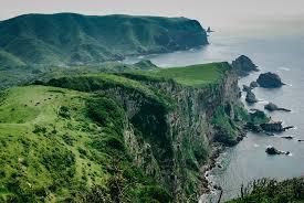 Rugged Landscape Lush And Rugged Landscape Of A Japan Sea Island Okinoshim U2026 Flickr