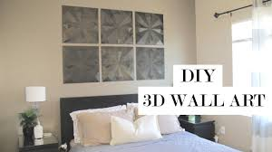 3d wall art home decor diy easy and damage free youtube
