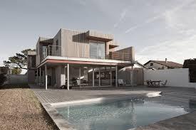 modern house r in anglet france loversiq