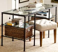 Pottery Barn Ava Desk by Metal Desk Look 4 Less And Steals And Deals