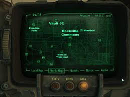 Fallout 3 Map by Rockville Commons At Fallout3 Nexus Mods And Community