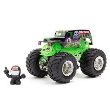 monster trucks grave digger crashes wheels monster jam grave digger vehicle toys r us