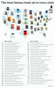 Literature Map This Map Breaks Down America U0027s Most Popular Books By State Bookstr