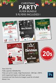 20 holiday party flyer templates u0026 psd designs free u0026 premium