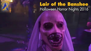 how to print halloween horror nights tickets lair of the banshee scare zone for halloween horror nights 2016 at