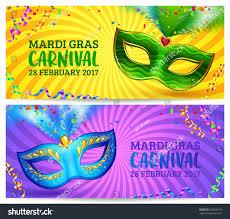 blue mardi gras green blue carnival masks vector mardi stock vector 558020176