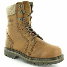womens caterpillar boots uk caterpillar cat nena womens leather 8 eyelet lace up ankle boots