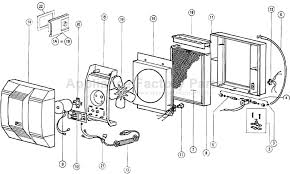 parts for 760 aprilaire humidifiers