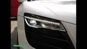 audi r8 headlights r8 2014 facelift front u0026 rear leds demo video retrofit by