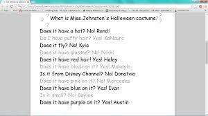 halloween inferencing miss johnston u0027s journey