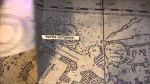 Harry Potter World Map by Harry Potter Marauder U0027s Map Footsteps Youtube