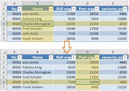 how to auto highlight row and column of active cell in excel