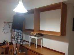 home improvement hallway workspace