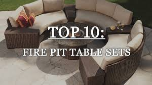 Outdoor Firepit Tables 10 Outdoor Pit Table Sets