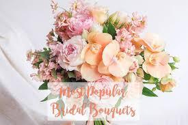 Popular Bridal Bouquet Flowers - the wedding scoop
