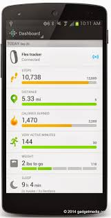 fitbit app android top fitness apps for android iphone gadgetmedia