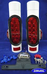 boat trailer guides with lights pipe lights the hull truth boating and fishing forum