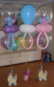 balloon baby shower decorations ballon baby baby shower diy