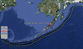 map of aleutian islands aleutian islands geology page