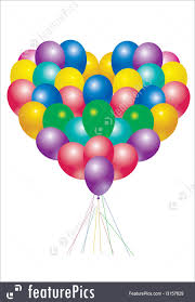 heart balloons toys and souvenirs heart balloons stock illustration i3157629 at