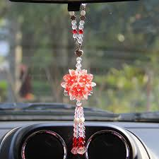 aliexpress buy 6 color pendant car rearview mirror