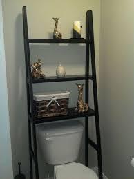 Black Over The Toilet Cabinet Best 25 Shelves Over Toilet Ideas On Pinterest Over Toilet