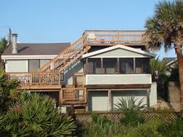 oceanfront home on st augustine beach rooftop deck reserve