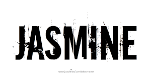 tattoo designs for letters jasmine name tattoo designs