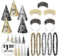 new years kits new year s party kits for 10 party city