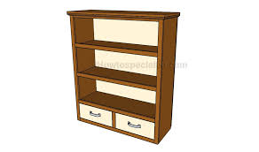 bookcase plans free howtospecialist how to build step by step