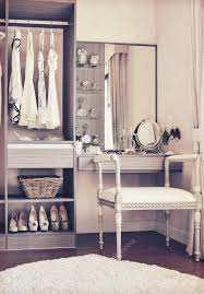 Vintage Style Vanity Table Vintage Style Photo Of Dressing Room With Classic White Chair And