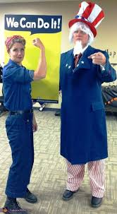 rosie the riveter costume rosie the riveter and sam couples costume ideas
