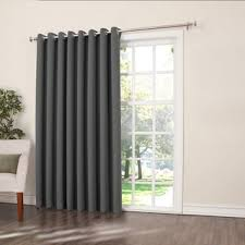 Patio Door Panel Curtains by Wide Width Curtains U0026 Drapes Shop The Best Deals For Oct 2017