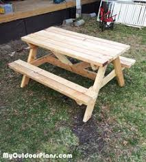 Diy Wood Picnic Table by Kids Size Folding Picnic Table Plans Folding Picnic Tables