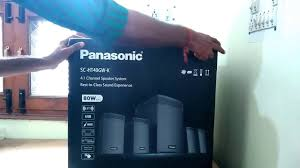 best in home theater system unboxing quick function panasonic 80w home theater system