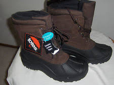 s totes boots size 11 s leather totes ebay