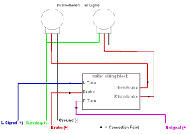toyota tacoma tail light wiring diagram image details