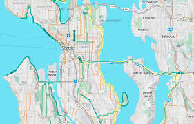 Seattle Districts Map by Bike To Work With Mapzen U0027s Updated Bike Map Mapzen