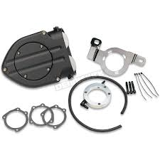 kuryakyn wrinkle black hypercharger air cleaner 9980 harley