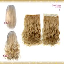 hair extensions uk wiwigs half 1 clip in curly strawberry hair