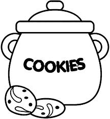 draw cookie jar coloring pages draw cookie jar