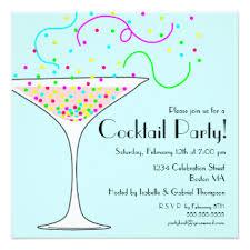 party invitation cocktail party invitations announcements zazzle