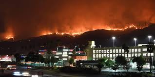 Wildfire Cali by 19 Wildfires Burning In California Including La U0027s Largest Ever