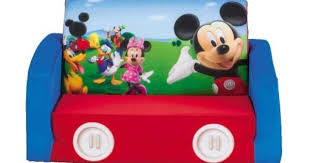 Disney Mickey Mouse Clubhouse Flip Open Sofa With Slumber Attachment