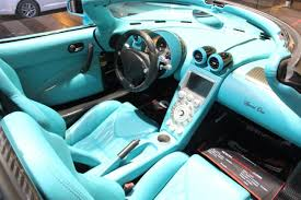 koenigsegg ccxr trevita supercar interior one of a kind koenigsegg ccxr turquoise and black carbon fiber