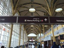 Reagan Airport Map How To Use New Metro Silver Line To Get Between Dulles And Reagan