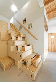 stairs ideas for space saver small apartment design with sectional