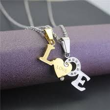 personalized heart pendant engraved s titanium steel necklace with birthstones