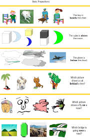 Functional Math Worksheets Prepositions Free Language Stuff